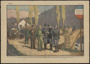 Contrôle de la frontière pyrennéenne