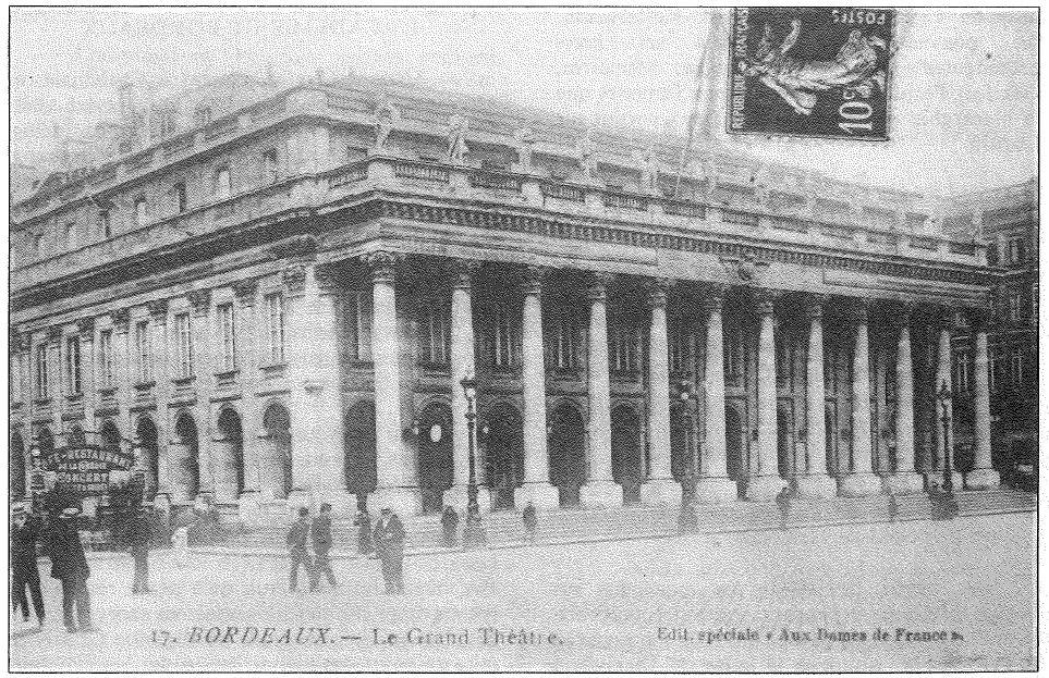 Bordeaux le grand théatre