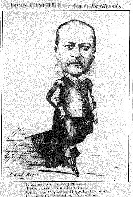 Gustave GOUNOUILHOU, directeur de la Gironde