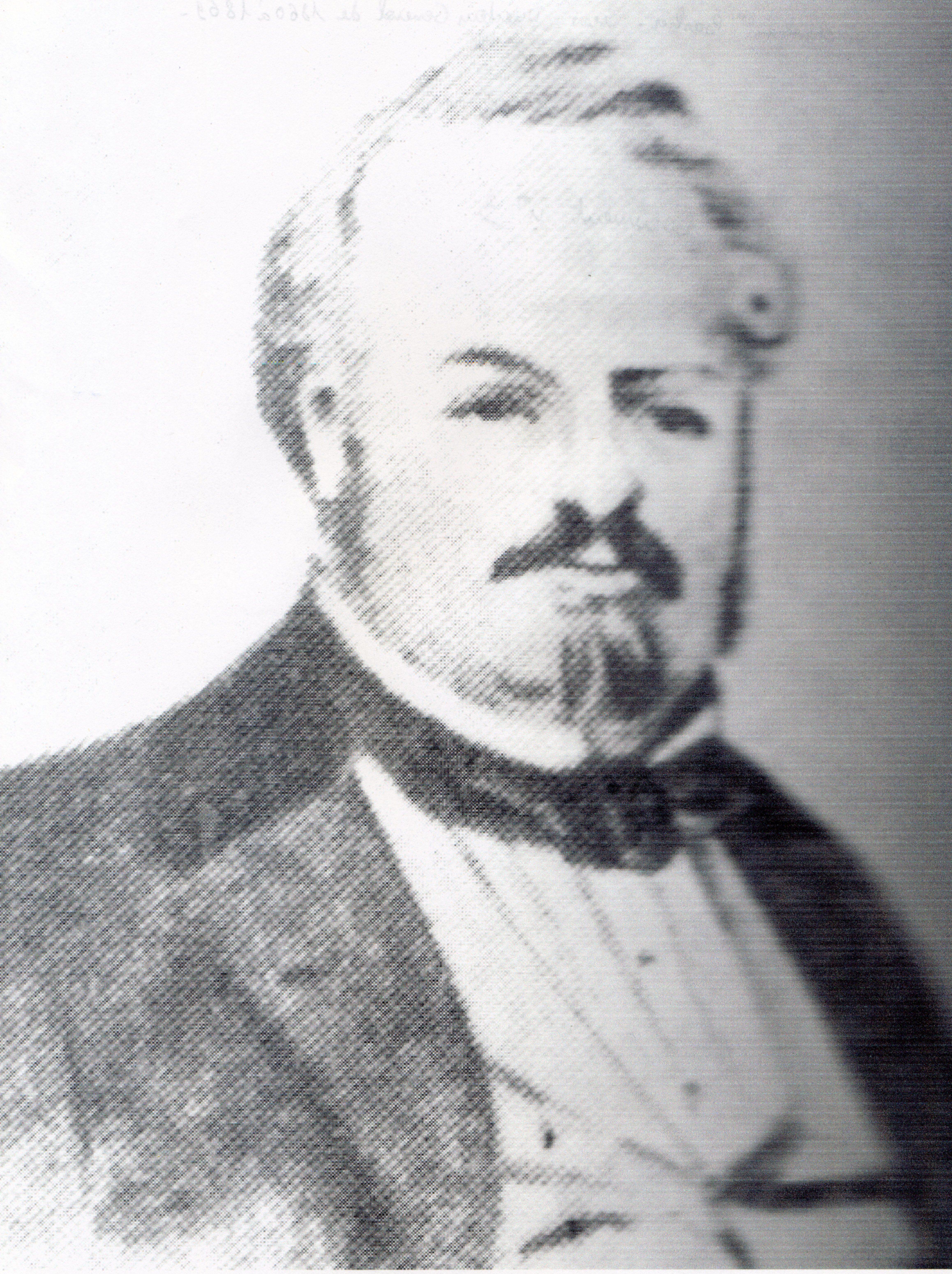 Pierre Barbier, directeur général de 1860 à 1869.