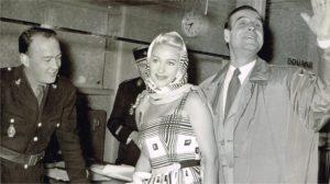 Martine Carol à Orly