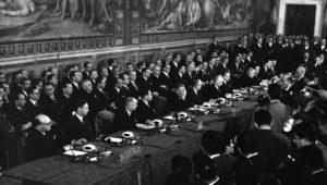 Signature du Traité de Rome en 1957